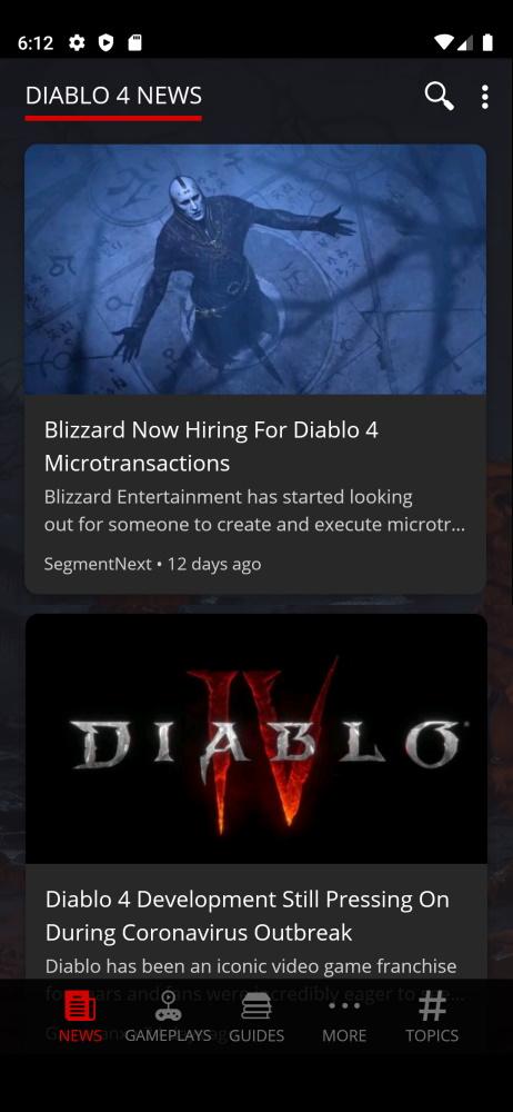 Diablo 4 Smartable app