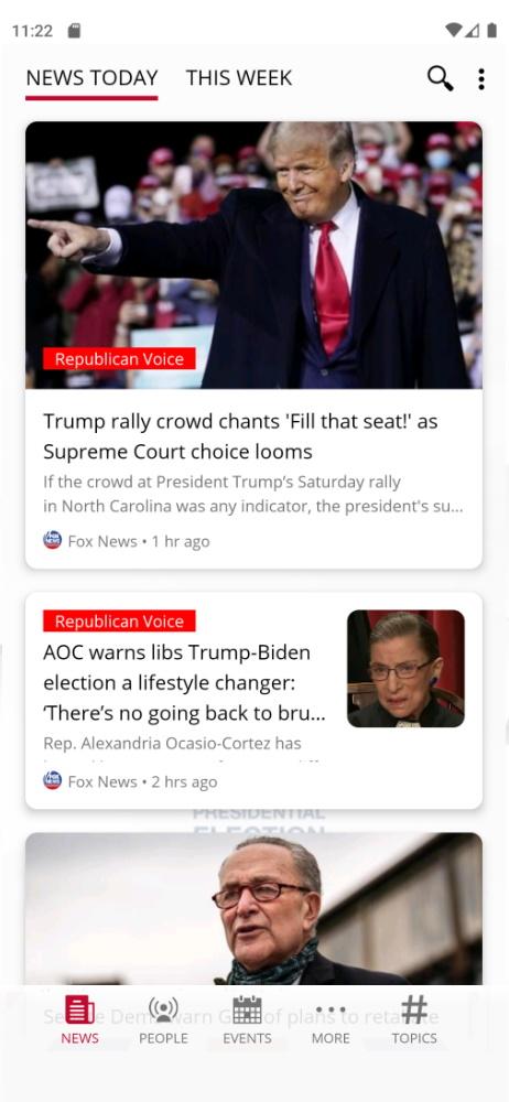 Election Smartable app